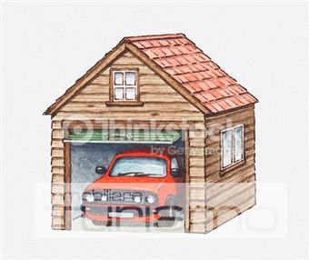 Riccione corridoni posto auto immobiliare turismo riccione for Piani garage separati con posto auto coperto